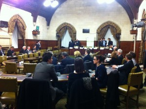The Grand Committee Room, Westminster Hall