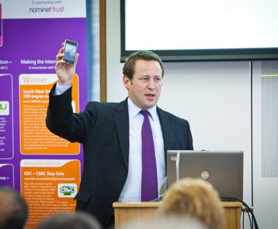 Ed Vaizey MP speaking at the Sixth Annual Conference.